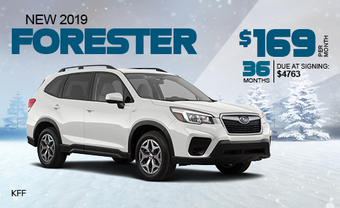 Lease a 2018 Subaru Forester