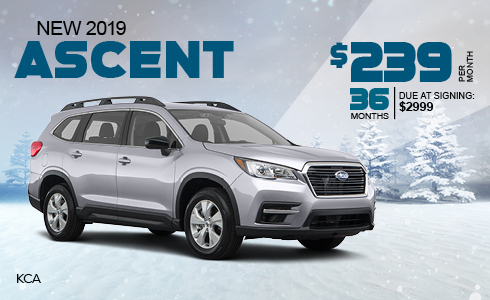 Lease a 2018 Subaru Ascent