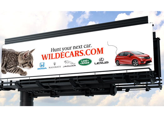 Wilde Cars Sarasota Billboard