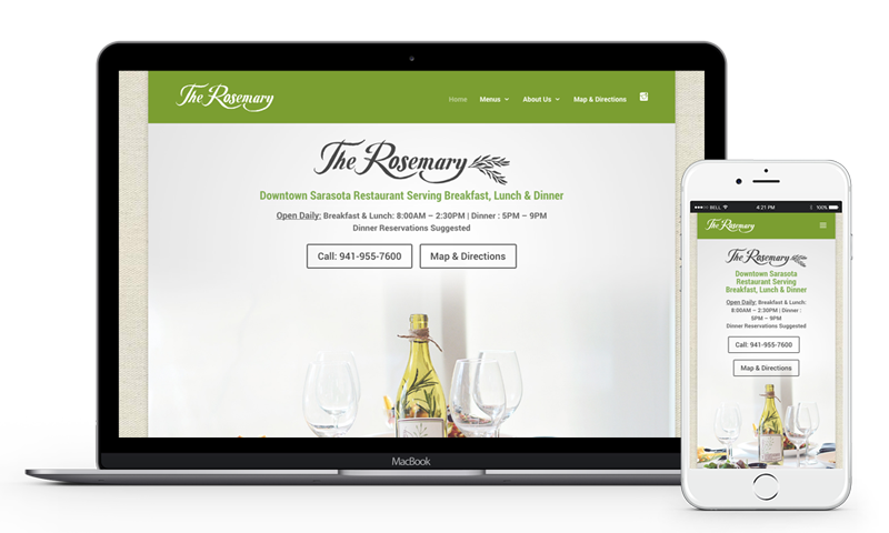 The Rosemary Sarasota Website