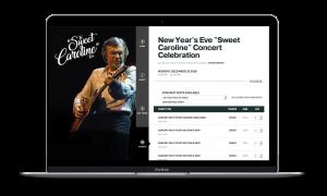 Sweet Caroline Tour Website