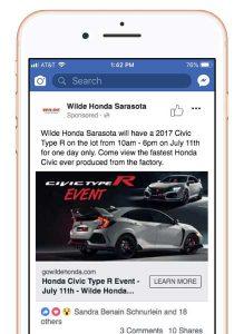Wilde Honda Sarasota Facebook