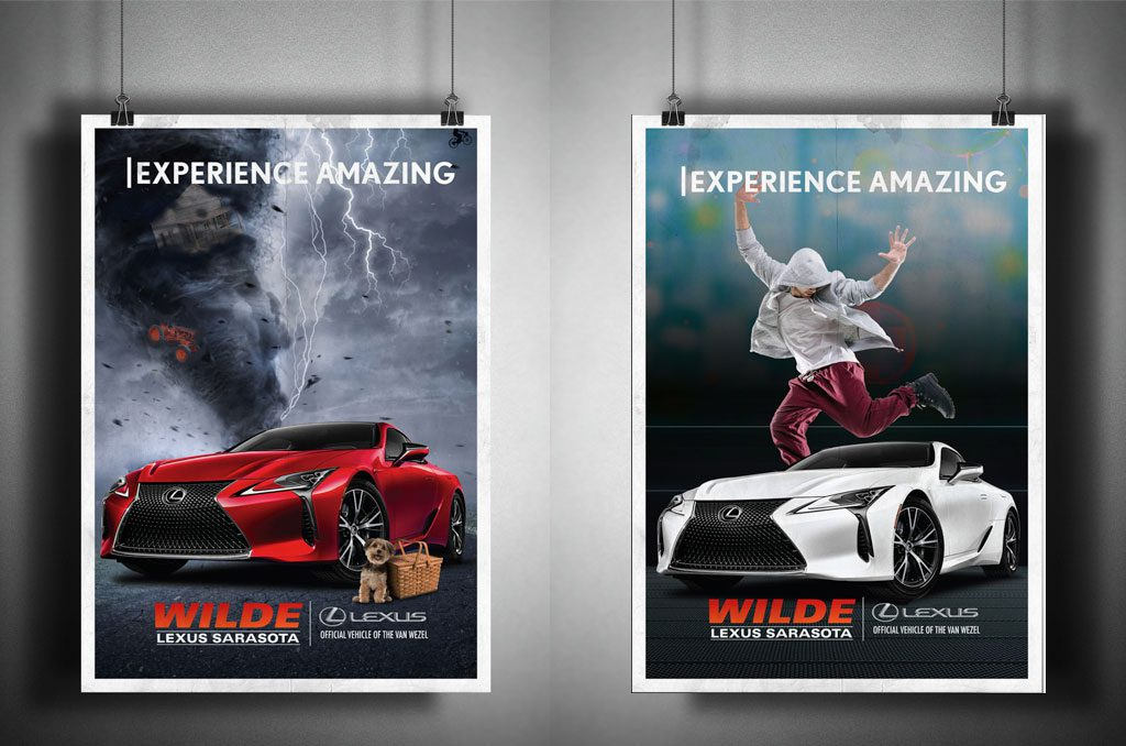 Wilde Lexus Sarasota advertisement