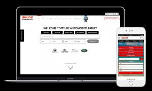 Wilde Cars Sarasota website
