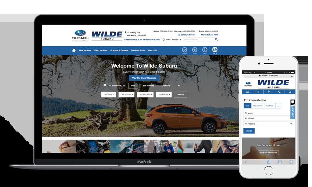 Wilde Subaru Waukesha Homepage
