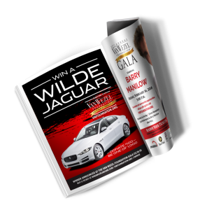 Win a Wilde Jaguar Sarasota Magazine Ad