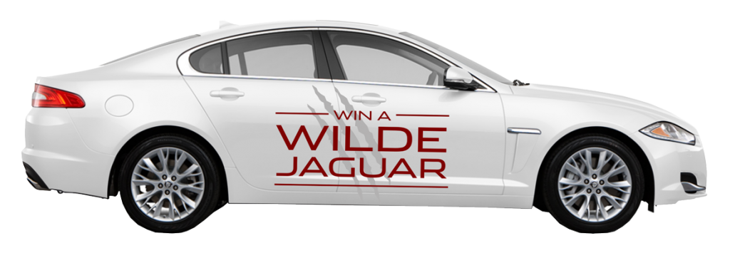 Win a Wilde Jaguar Sarasota car decal