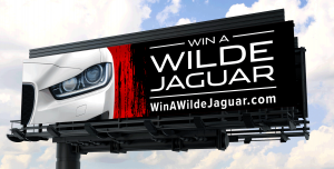 Win a Wilde Jaguar Sarasota Billboard