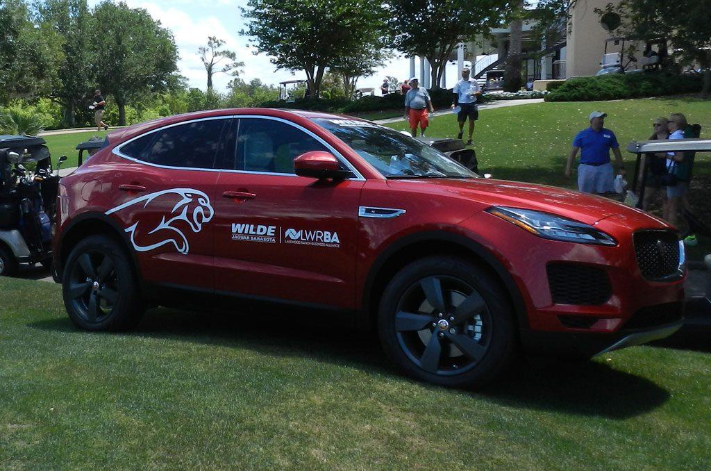 Wilde Jaguar Sarasota vehicle wrap