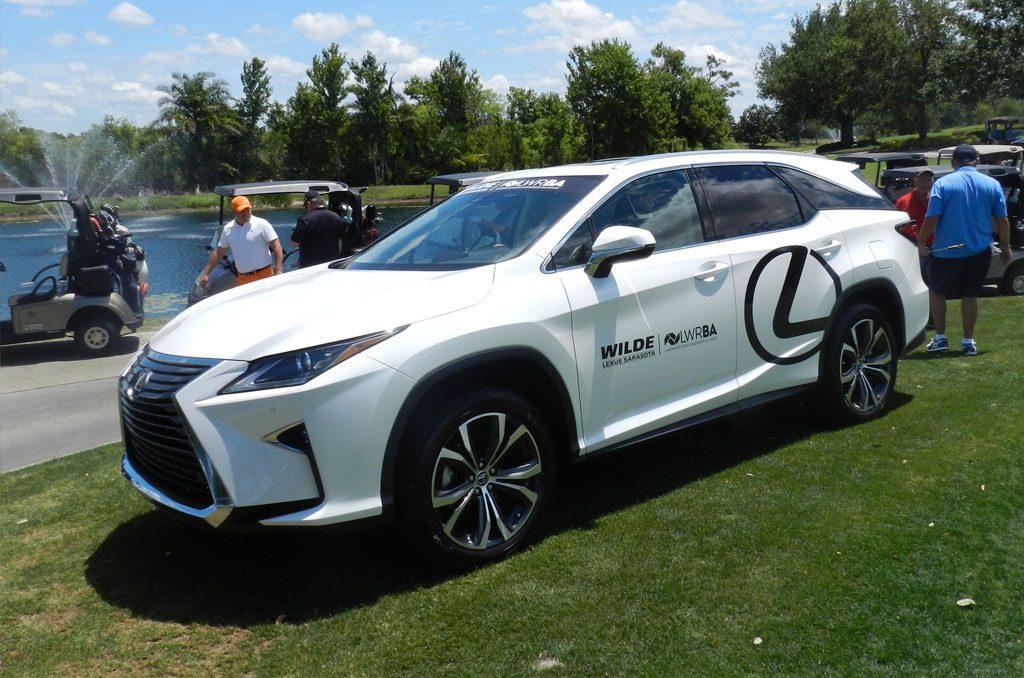 Wilde Lexus Sarasota Vehicle Wrap