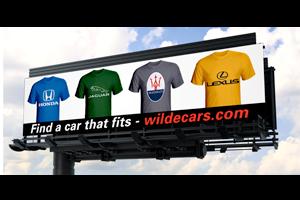 Wilde Cars Sarasota Billboard